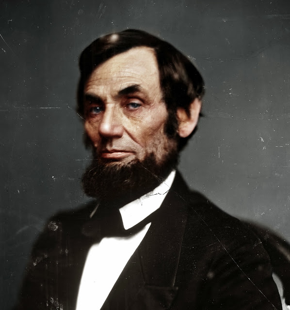 Abraham-Lincoln colorized