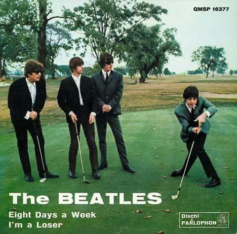 Beatles on the green