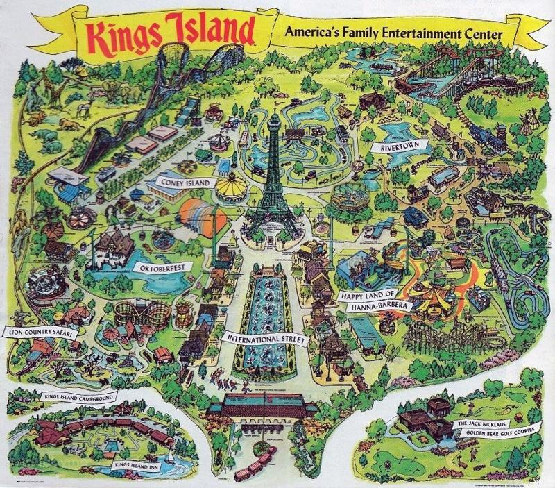 z 1974-Kings-Island-Map