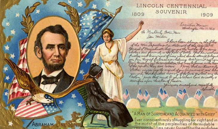 z Lincoln-Postcard
