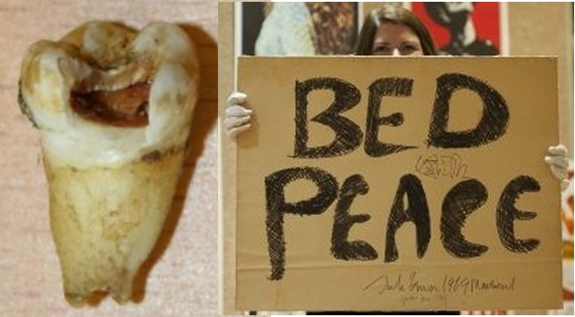 John LennonTooth-sign