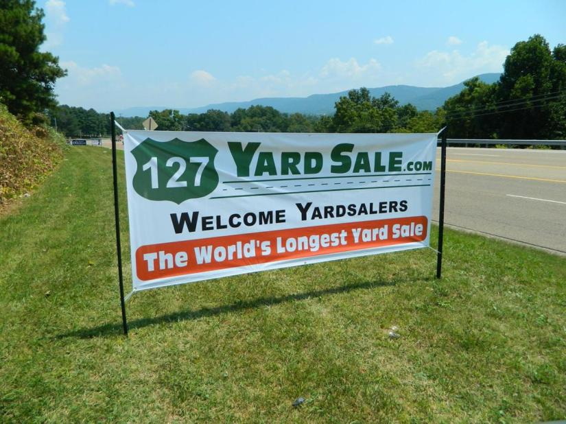 The World's Longest Yard Sale Eclipsed  – Alan E  Hunter