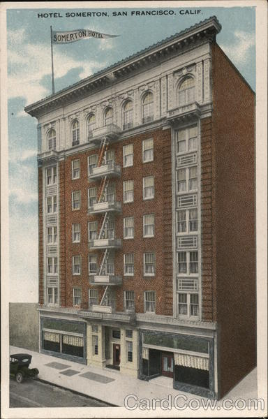 Hotel Somerton, 440 Geary Street San Francisco, CA