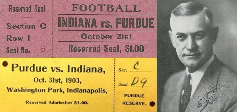 IU Purdue ticket pair leslie