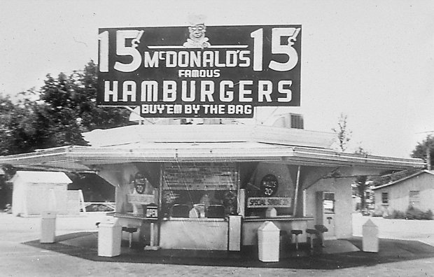 FOOD HISTORY HISTORICAL FAST FOOD BURGER HAMBURGER RESTURANT CHAIN