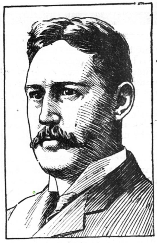 Lewis G. Reynolds close up June 13, 1903
