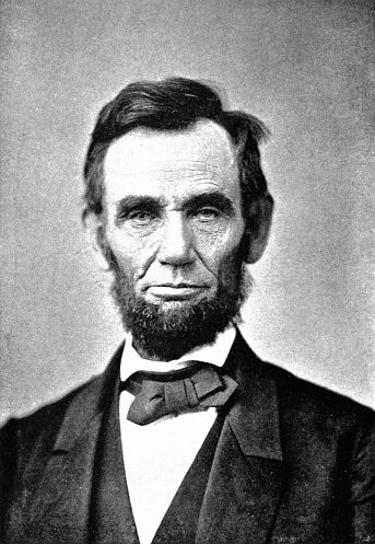 Lincoln in Indiana photo