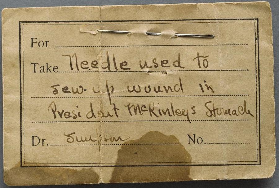 z McKinley Needle 1901 Theodore Roosevelt Inaugural Site Foundation