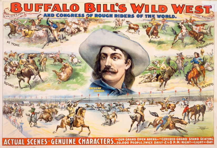 Part I Buffalo Bill poster