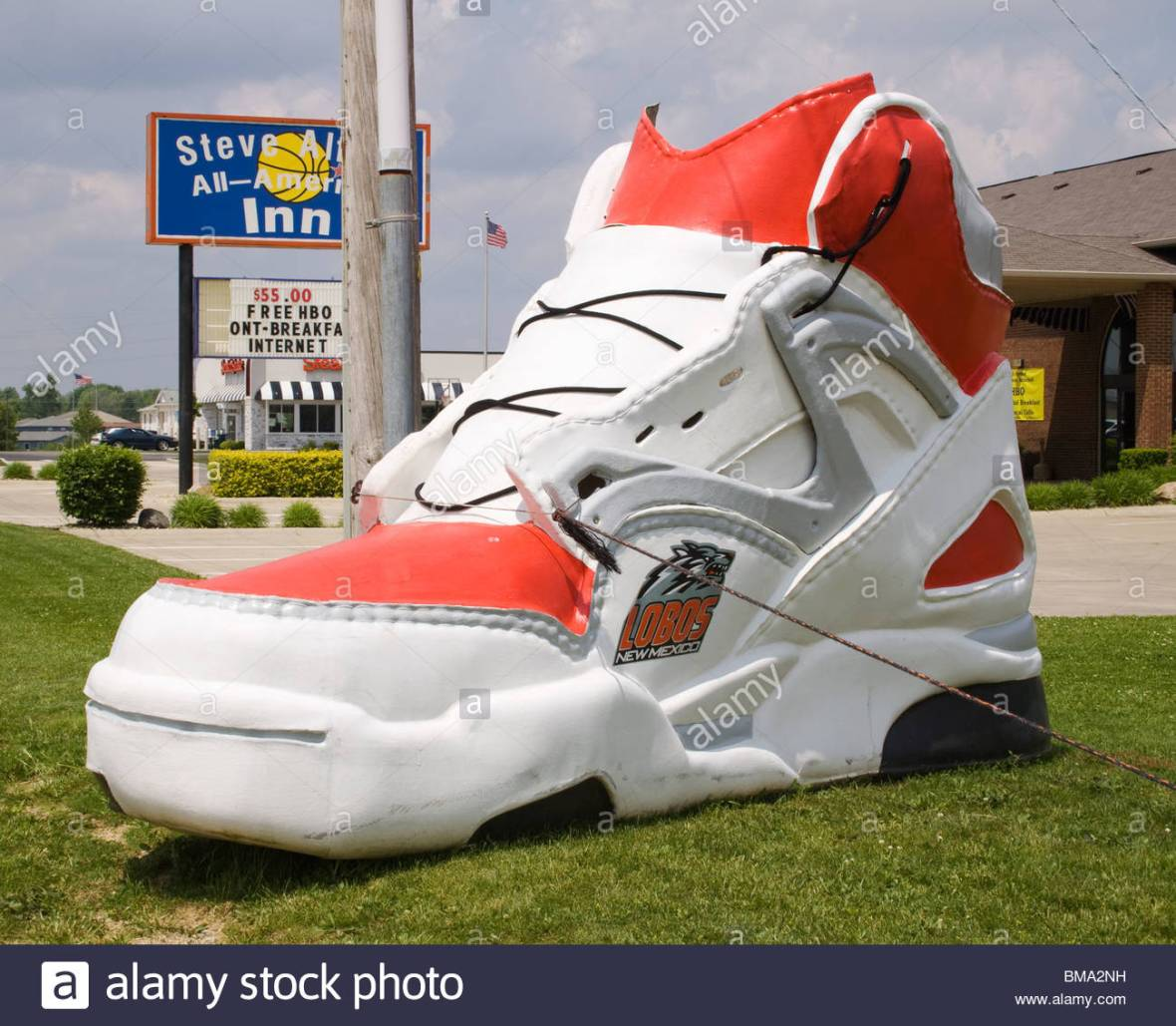 z giant-sneaker-at-a-shoe-store-in-new-castle-indiana-BMA2NH